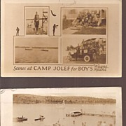 Camp Jolef  for Boy's * Wayne, Maine