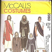 McCall's Costume Pattern * The Passion Play * 8 Costumes