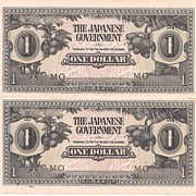 Japanese Uncirculated Invasion Currency * One Dollar