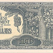Japanese Invasion Currency * 10 Dollar Note