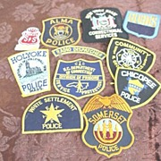 Police & Security Shirt Patches # 1
