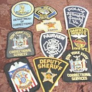 Police & Security Shirt Patches # 3