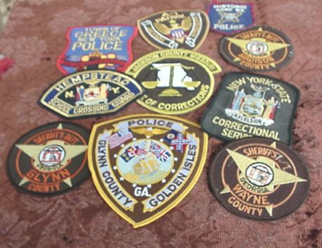 Police & Security Shirt Patches # 5