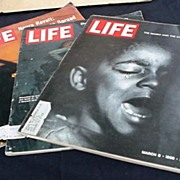 Life Magazine * 3 Issues on City Riots 1967 & 1968