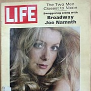 Life Magazine * Catherine Deneuve * January 24, 1969 Issue
