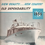 Richardson Boat Catalog * 1954