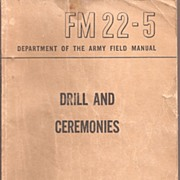 Army Field Manual * Drill and Ceremonies June 1950
