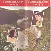 Erie Railroad Brochure * Summer Resorts 1942