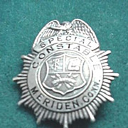 Meriden, Conn. Special Constable Badge