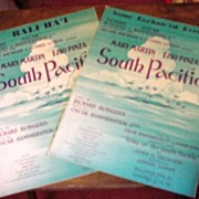 South Pacific Sheet Music ~ Rodgers & Hammerstein