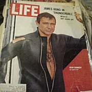Life Magazine * Sean Connery / James Bond 007 Cover