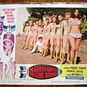 Dr. Goldfoot  & the Girl Bombs Movie Card 1966