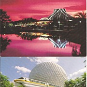 Epcot Center * Walt Disney Postcards