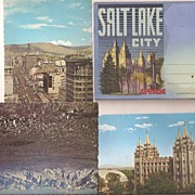 Salt Lake City, Utah Vintage Postcards
