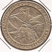 Gaming Token * Cherokee Indians