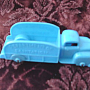 Bawer Plastic Toy Truck  * Department of Sanitation  * 1950's