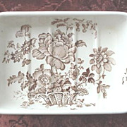SOLD Staffordshire * Royal Crownford Butter Dish