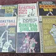 Basketball Paperbacks * Basketball Stars *ProBasketball