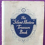 GE ~ The Silent Hostess Treasure Book * 1931