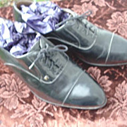 Vintage Vittorio Ponti Matador Leather Shoes - Size 10
