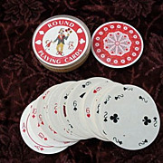 Deck of Round Playing Cards