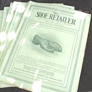 The Shoe Retailer Magazines * Trade Publications * 1914 ~ 1918
