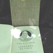 Leonardo Da Vinci * 2 Books * 1928 & 1938 * Plus Bonus Book