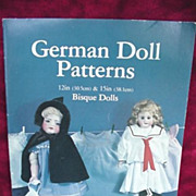 Doll Patterns Sewing Booklet