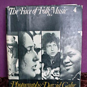 The Face of Folk Music * First Edition * 1968