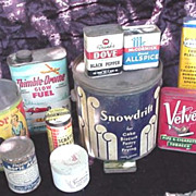 Advertising Tins - Vintage Products