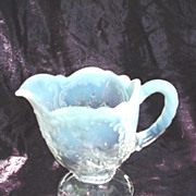 Opal * Opalescent Northwood Pitcher c. 1900 ~ Beautiful !!