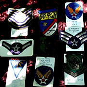 United States Air Force Vintage Patches