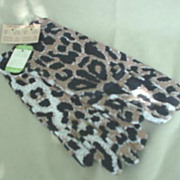 SOLD Leopard Print Ladies Gloves by Van Raslte