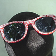 Coca-Cola Red & White Sun Glasses