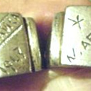 World War11 Serviceman's Rings - 1943