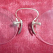 Vintage Nose Grip Glasses