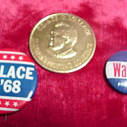 George Wallace Campaign Buttons