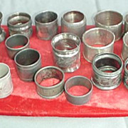 Napkin Rings ~ Small Collection