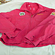 Delco Roamers Cycle Club Jacket  - 1960's