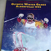 USPS Olympic Winter Games  Albertville 1992 Magazine _ Plus
