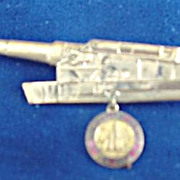 Rockefeller Center WW11 Cannon Pin