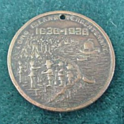 Long Island Tercentenary Key Tag 1636 - 1936