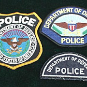 Department of Defense Police Patches