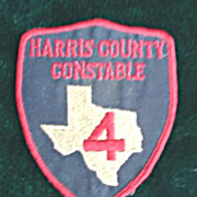 Texas -  Harris County Constable Patch
