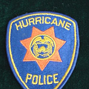 Hurricane Police Patch