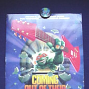 Teenage Mutant Ninja Turtles Press Kit - 1990 Tour