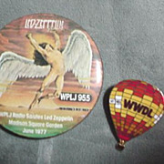 Radio Pin Buttons - WPLJ & WWDL