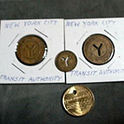 New York City Transit Tokens +