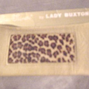 Lady Buxton Spec-Tainer Glasses Case w/ Leopard Design
