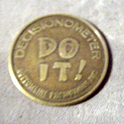 DO IT! Decisionometer Coin